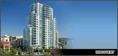 Discovery Condos in San Diego Cortez Hill