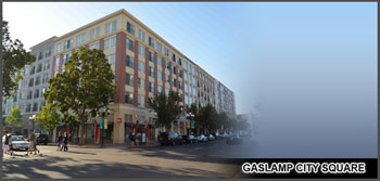 Gaslamp City Square Condos for Sale San Diego